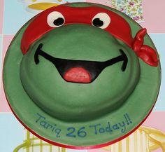 Image detail for -teenage mutant ninja turtle birthday cake