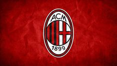 AC Milan FC Football Logo
