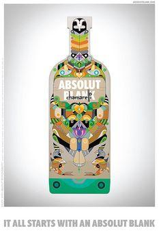 Absolut Vodka by chamarelli, via Flickr