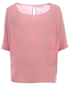 Humanoid weites Seiden Shirt Rosa #Stierblut #Rosa #Tshirt