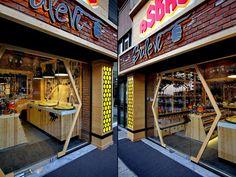 Внешний вид магазина специй и приправ Asbal Balevi в Турции
