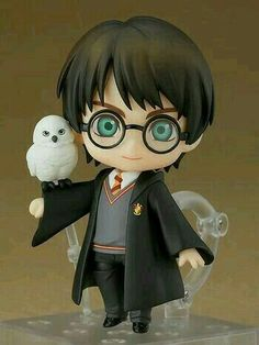 Good Smile Company: Nendoroid Harry Potter in preordine! Harry Potter Tumblr, Harry Potter Anime, Hedwig Harry Potter, Harry Potter Kunst, Harry Potter Dolls, Arte Do Harry Potter, Harry Potter Drawings, Harry Potter Pictures, Harry Potter Film