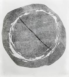 "Witold Winek ""uoVI"". 87X78, relief print, 2013"