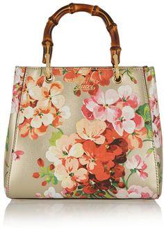 Gucci Bamboo Shopper Mini Printed Textured-Leather Tote Guccio Gucci, Me Bag,  Bag f9a90c011a1