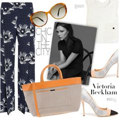 A fashion look from May 2016 by stacey-lynne featuring Victoria Beckham
