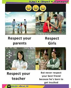 Friendship quotes funny - categories aspx category friends to make fun Visit once, u can see more funny joke pics here Funny School Memes, Some Funny Jokes, Crazy Funny Memes, Really Funny Memes, Funny Facts, Funny College, Crazy Jokes, Fun Meme, Funny Sarcastic