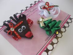 Christmas in JulyChristmas Clippie Set of by KarringtonsKreations, $13.95