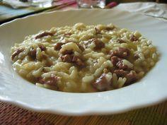 risotto salsiccia e gorgonzola