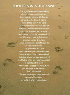 I know my footprints in the sand; I AM the LIVING God temple thereof!