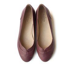 Sale 30 off Purple Joy Flats Handmade Leather by LieblingShoes, ₪485.00