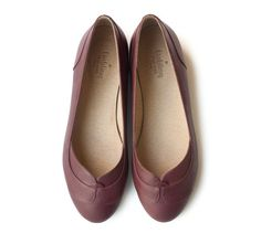 New! Purple Joy Flats, Handmade Leather shoes, Women spring shoes free shiping on Etsy, $206.12