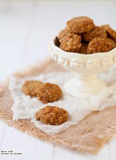 Galletas de avena y manzana sin huevo, azúcar y lácteos | Mis Recetas Anticáncer