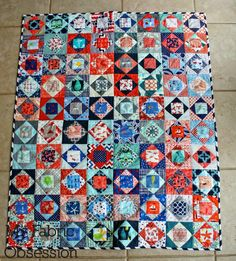 My Fabric Obsession: Nautical Economy Blocks