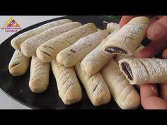 Σούπερ μαγείρεμα για τσάι! Τα παιδιά θα το αγαπήσουν. / ΔΗΜΙΟΥΡΓΙΑ ΜΠΟΥΚΑΚΙΑ ΣΕ ΣΥΝΤΟΜΟ ΧΡΟΝΟ - YouTube Kinds Of Cookies, Yummy Cookies, Hot Dog Buns, Sausage, Cupcakes, Sweets, Bread, Chicken, Cooking