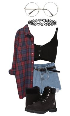 """""""Untitled"""" by madummachado ❤ liked on Polyvore featuring Forte Forte, Monki, Timberland, Accessorize and polyvorefashion"""