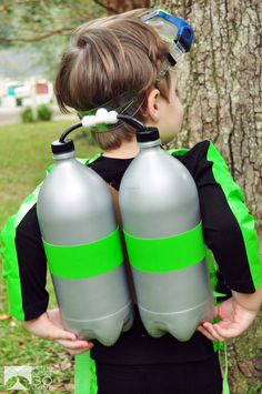 DIY Costume: SCUBA Diver | In The Next 30 Days