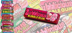 Only on rare occasion was I allowed to chew Bubblicious (or any other gum containing sugar) as a kid, which of course only made me want it that much more!