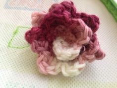 Crochet Wrap Flower - Tutorial ❥ 4U // hf