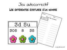 Un jeu autocorrectif pour l'entrainement à la lecture des nombres sous la forme dizaines et unité. Nombres inférieurs à 100.