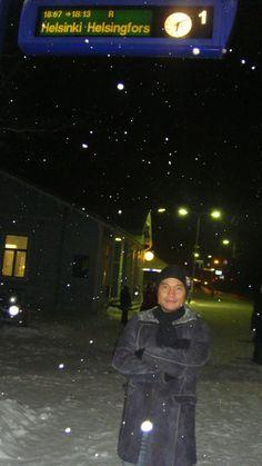 Helsinki in the night