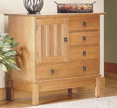 Take a Closer Look: Craftsman-Style Cabinet