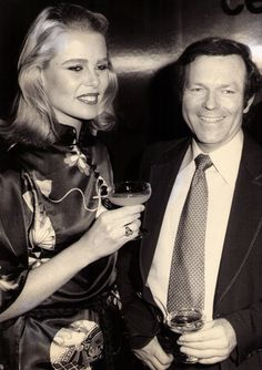 Margaux Hemingway with Chinese Australian fashion designer Vivian Chan Shaw, 1970s