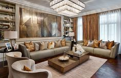 Bronzed Elicyon living room – LuxDeco Style Guide