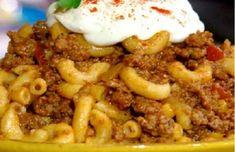 Paula Deen's twist on an old Hungarian recipe: goulash