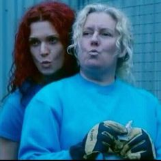 Bea And Liz Wentworth Tv Show, Wentworth Prison, Best Tv Shows, Best Shows Ever, Favorite Tv Shows, Drama Series, Tv Series, Bea Smith, Danielle Cormack