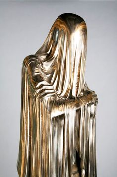 This Hauntingly Stunning Bronze 'Face-Off' Sculpture by Kevin Francis Gray is…