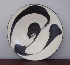 A plate a day: Black and White
