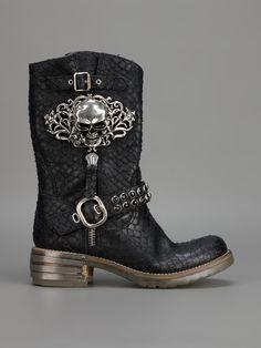 Baldan Python Skin Boot - Biondini - farfetch.com