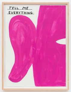 Childlike, Dark & Witty Art of David Shrigley.