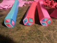 tumbling blocks cane   Wanda Shum Design: 2013 has arrived!