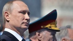 Putin makes troop deaths state secret May 27 BBC News