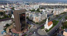 Minunata cladire BRD Tower din Cluj si Biserica Sf. Petru ! #aerialview #fotografiidrone #fotografiiaeriene #cluj Times Square, Twitter, Travel, Viajes, Trips, Traveling, Tourism, Vacations