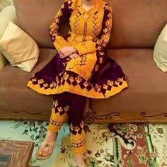 Heavy Balochi Embroidery