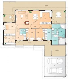 Little Dream Home, My Dream Home, Humble Abode, House Floor Plans, Future House, Sweet Home, Cottage, Layout, Construction