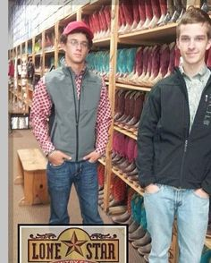 Vests, jackets & boots.  LSCS has what you need.