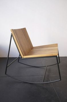 Reclaimed Teak Rocker: