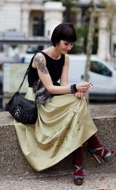 Tattoo Lust: Tattooed Dames V | Fonda LaShay // Design → more on fondalashay.com/blog #tattoofriday