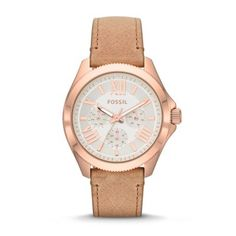 Fossil Cecile Multifunction Leather Watch