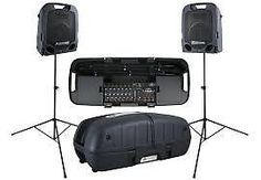 Peavey Escort 6000 Portable PA System - with Bluetooth wireless audio playback Speaker Stands, Speaker System, Stand Mic, Open Mic Night, Powered Speakers, Dj Speakers, Professional Audio, All In One, Conditioner