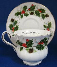 Antiques And Teacups - Tuesday Cuppa Tea, 1st Blog Anniversary Winner named, Christmas Prep, 2nd Blog Anniversary Drawing, Hockey In Seattle?