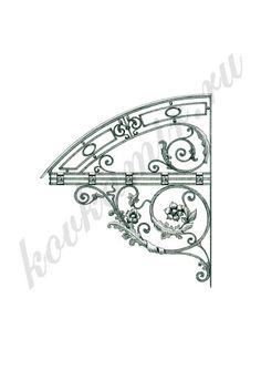 Ворота и калитки | Эскизы | Художественная ковка