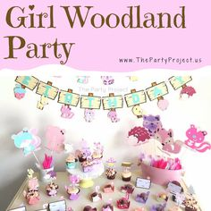 Explore theenchanted forest full of friendswith our selection of woodland creaturesparty supplies! Whether you are planning awoodland birthday, a forestthemed baby shower or even a camping event, our themed party decorations have plenty of friendly critters who want to party with your little girl and all little nature lovers will have a fantastic time with their new forest friends!