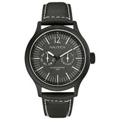 Buy Nautica N13603g Nct-150 Mens Watch price - Nautica watches have a traditional and timeless design that goes without saying. From wristbands featured in classic colors to silver metals that will dazzle you the style possibilities with Nautica are endless. Our collection of Nautica mens watches serve as the...
