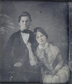 Unidentified man and woman.   collections.mohistory.org