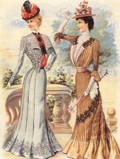 suzseams: August 1900 Delineator