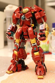 Menacing Custom Made LEGO HULKBUSTER Armor